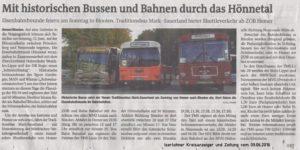 Iserlohner Kreiszeitung vom 09.06.2016