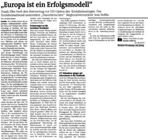 Iserlohner Kreiszeitung vom 29.08.2016