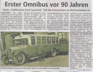 Lüdenscheider Nachrichten vom 06.12.14