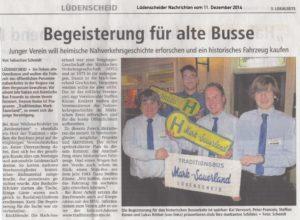 Lüdenscheider Nachrichten 11.12.14