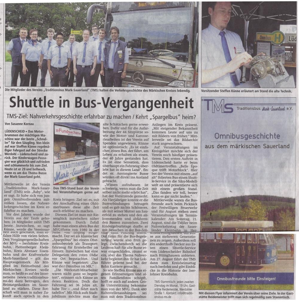 Lüdenscheider Nachrichten 13.08.2016