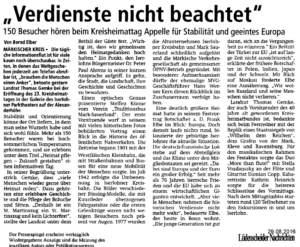 Lüdenscheider Nachrichten vom 29.08.2016