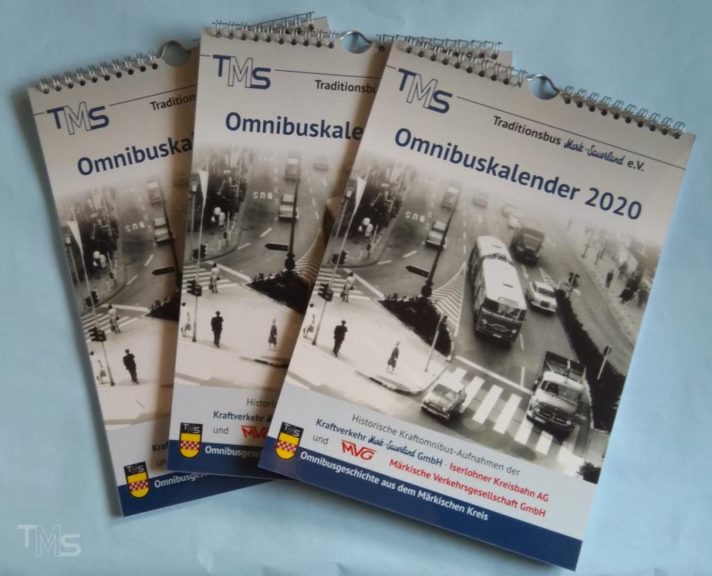 Historischer Omnibuskalender 2020 erhältlich