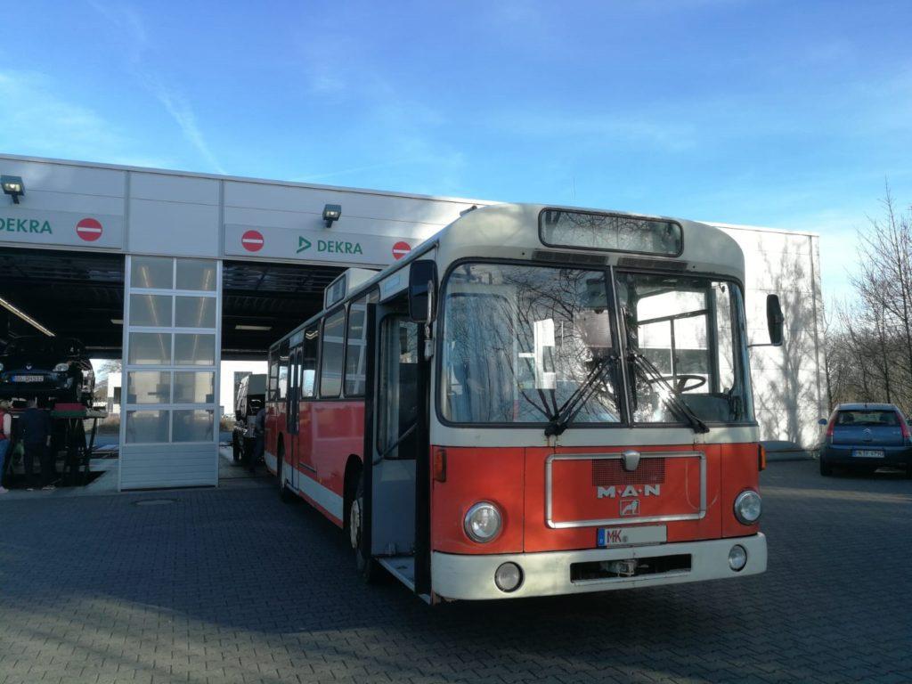 Neues zum Traditionsbus 264
