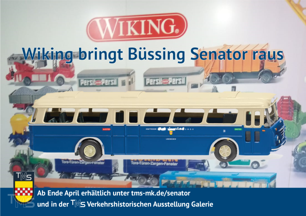 Wikingt bringt Büssing Senator raus